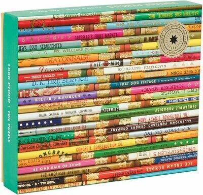 Vintage Pencils - Puzzle