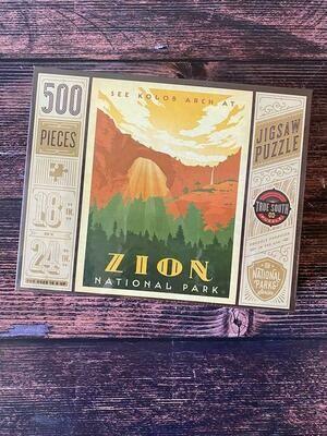 Zion National Park Jigsaw Puzzle