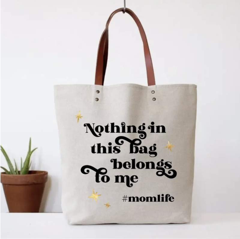 Nothing Belongs Tote