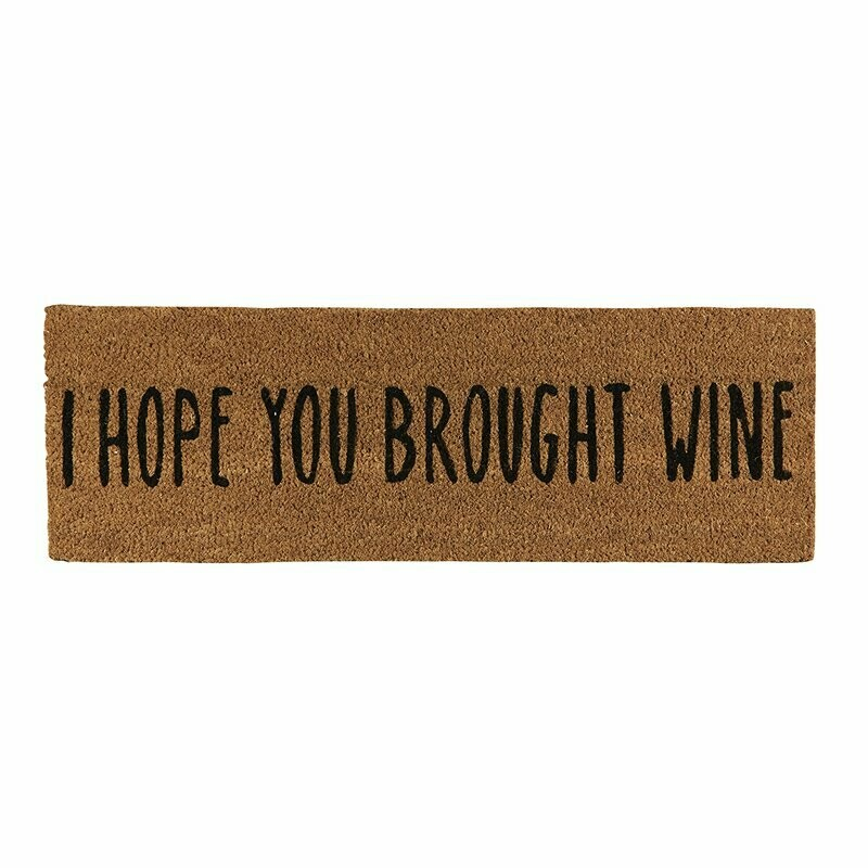 Brought Wine Door Mat