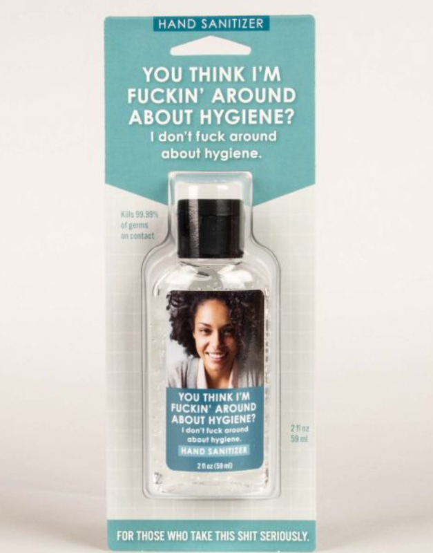 F'ing Around Hygiene Hand Sanitizer