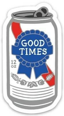 Good Times Sticker