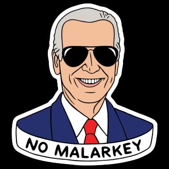 Die Cut Sticker: Biden Aviators