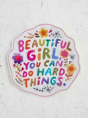 Beautiful Girl Sticker