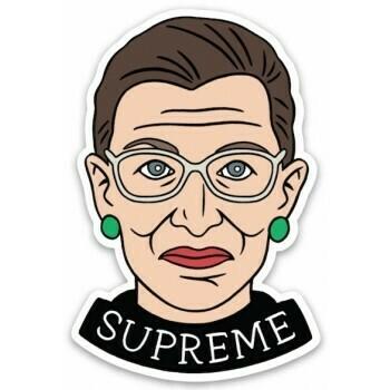 Die Cut Sticker: RBG Supreme