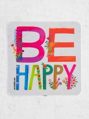 Be Happy Sticker