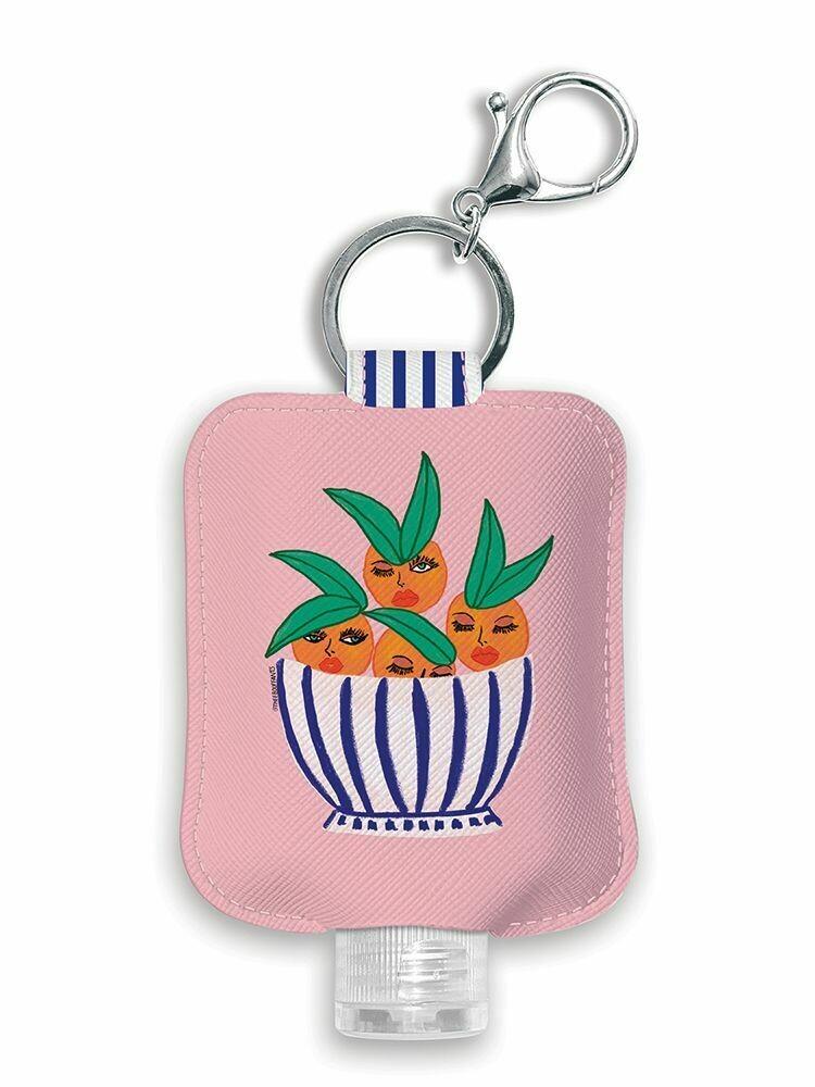 Sassy Oranges Hand Sanitizer Holder