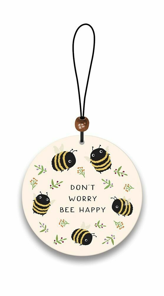 Don't Worry Bee Happy Air Freshener