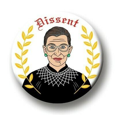Round Magnet: Ruth Dissent