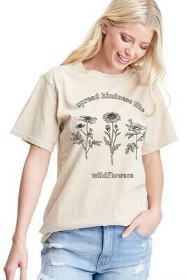 Vintage Wildflower Tee