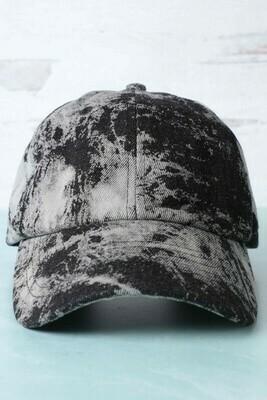 Black Tie Dye Hat