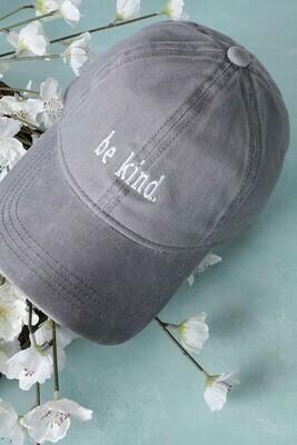 Be Kind Hat, Grey