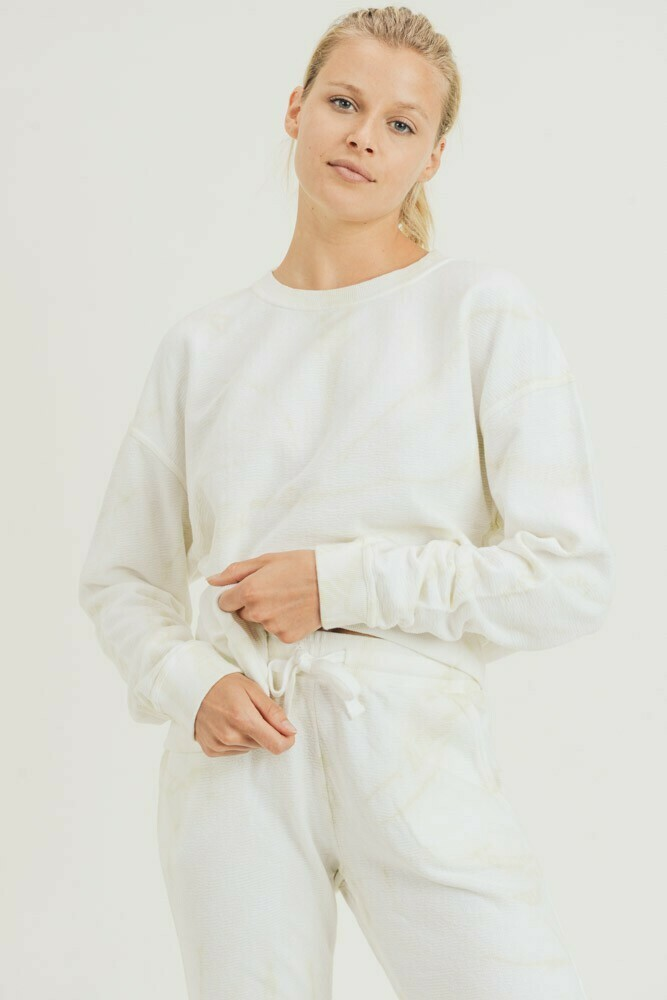Swirl Tie-Dye Pullover