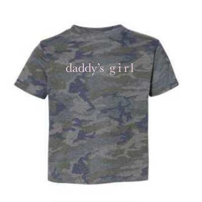 Daddy's Girl Kids Tee