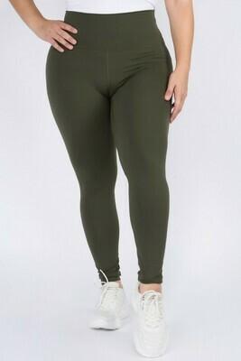 Casual Legging X, Olive