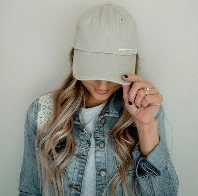 Mama Vintage Hat, Stone