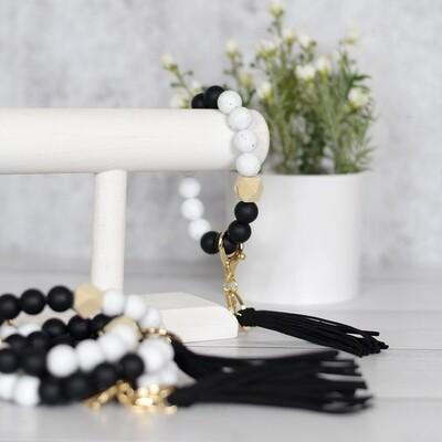 Beaded Bracelet Keychain