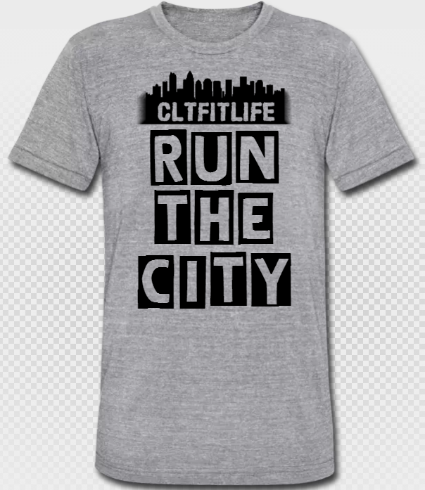 Run the City - Unisex Tri-Blend Tee CLTFITLIFE01