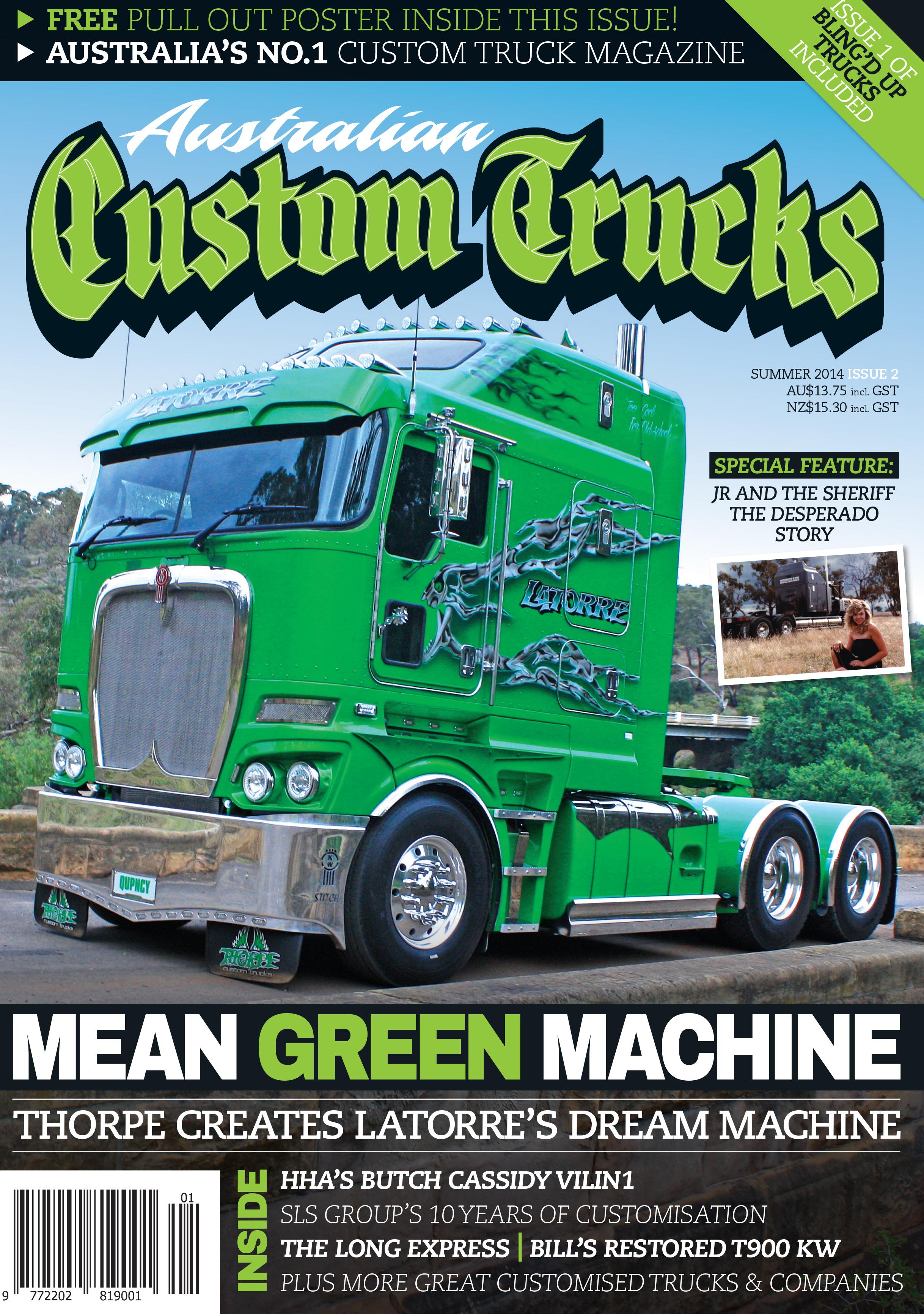 Issue 2 Australian Custom Trucks ACT0002