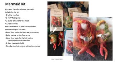 Mermaid felt kit