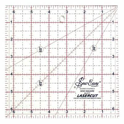 Sew Easy Ruler Square 6.5 x 6.5