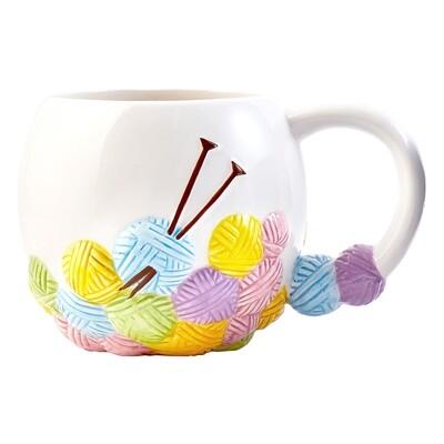 Mug Yarn Balls