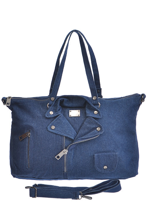 Denim Jacket Handbag 000037
