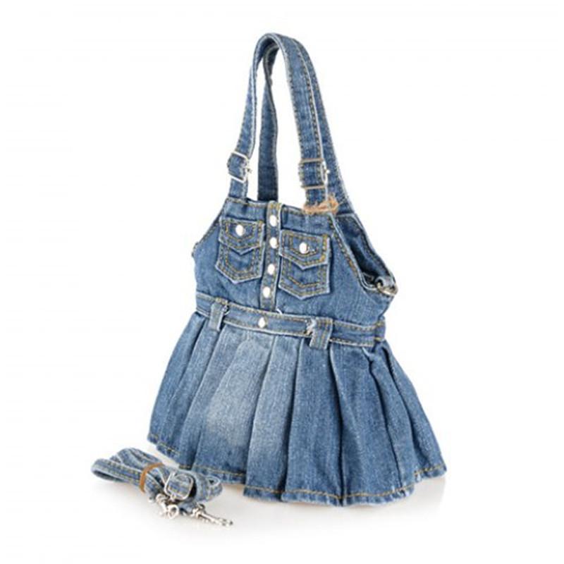 Denim Jumper Handbag 000057