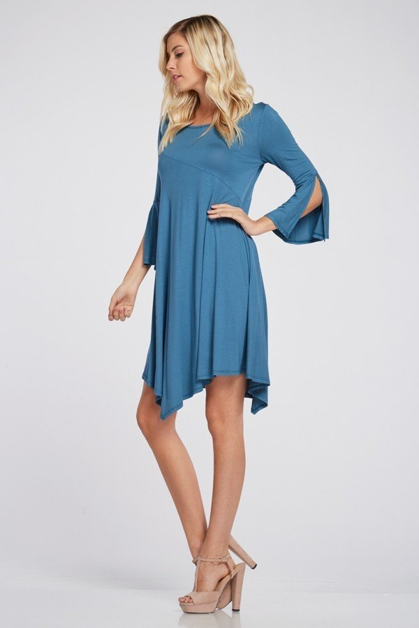 Made for you Bell Sleeve Dress 000033