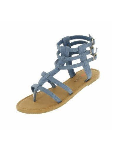 Denim Gladiator Sandal 549010