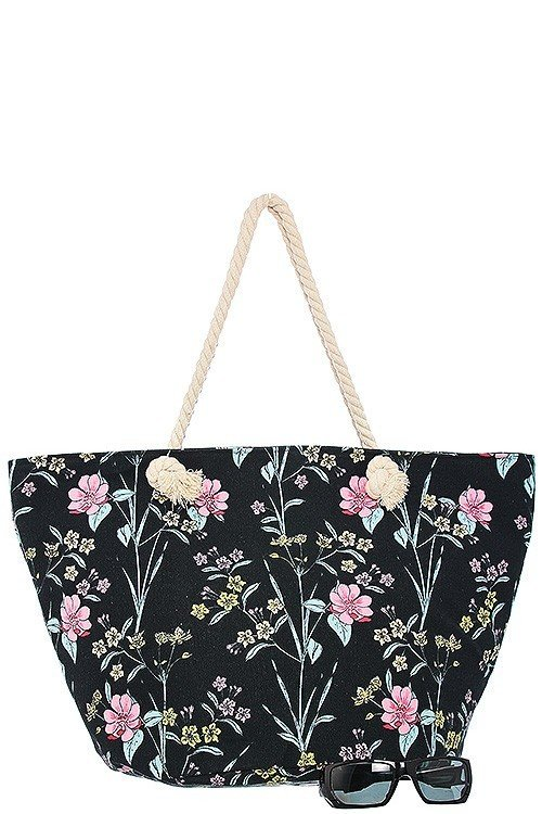 Floral Tote Bag FTB002