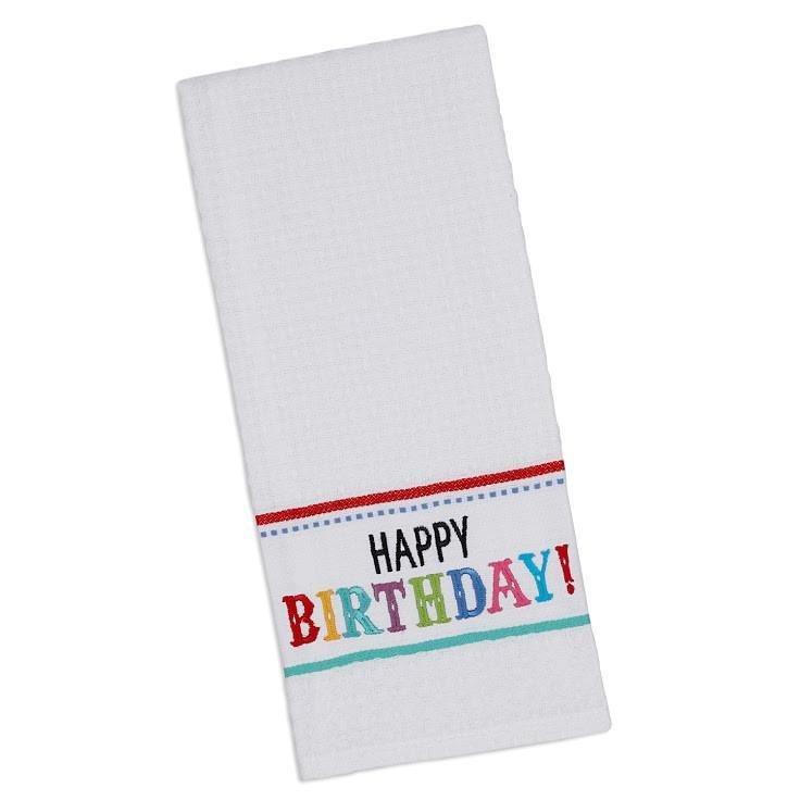 Happy Birthday Dish Towel HBDT433