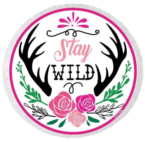 Stay Wild Beach Towel SW7133