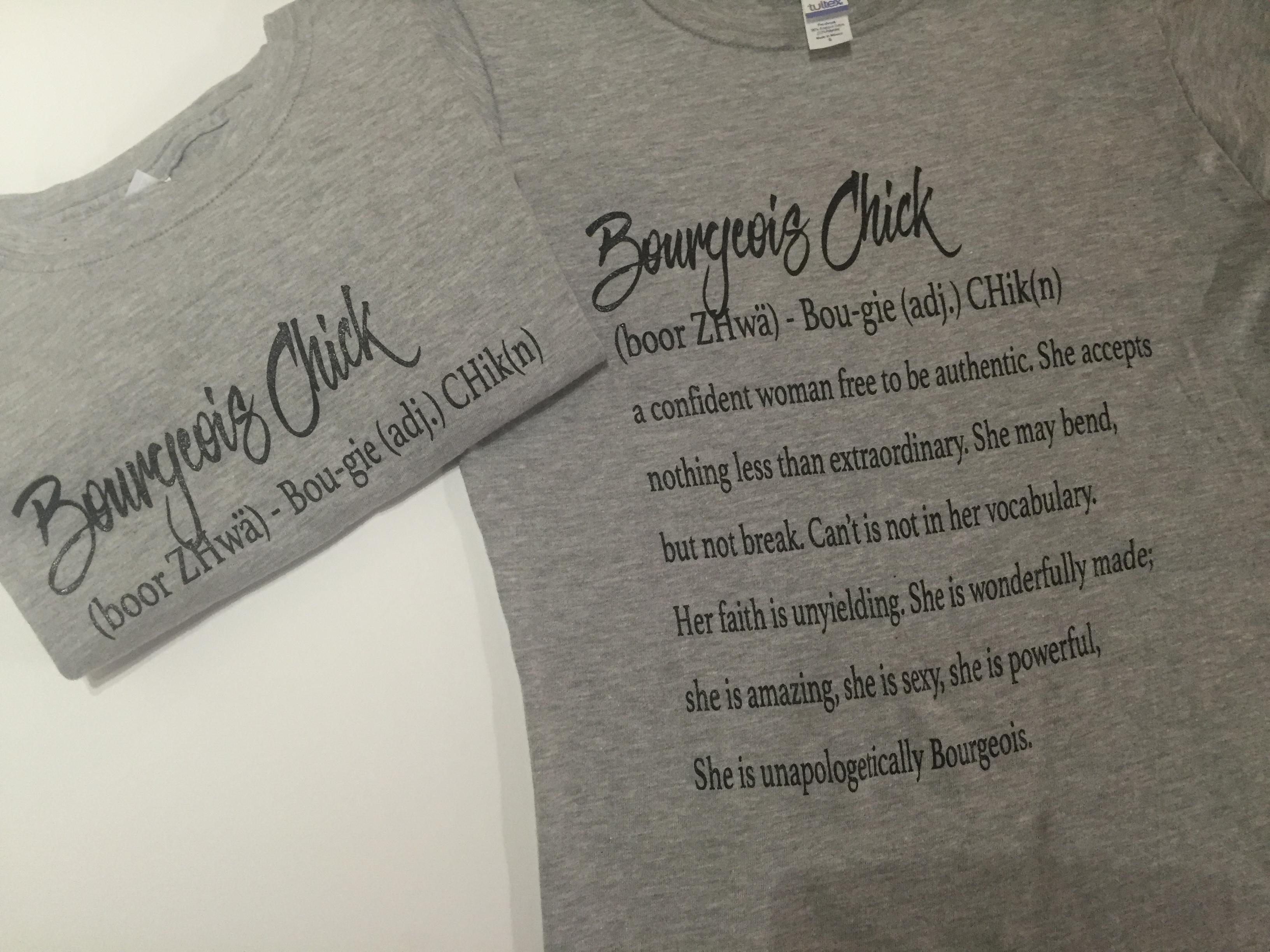 Bourgeois Chick T-shirt BourgeoisT