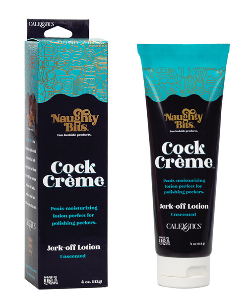 Naughty Bits Cock Crème Water Based Jerk-Off Lotion