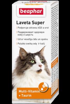 Беафар 12524 Laveta Super Витамины д/кошек 50мл
