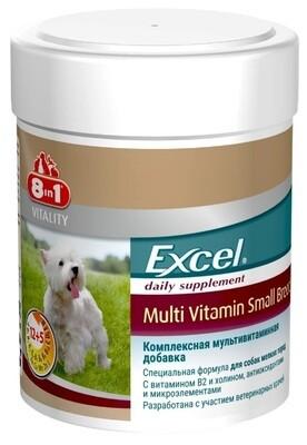 8in1 Excel Мультивитамины для взрослых собак мелких пород 70таб.