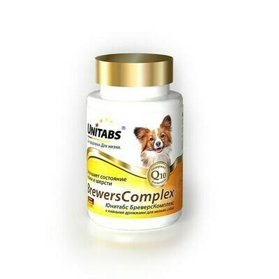 Экопром  Юнитабс витамины для собак мелких пород с пивными дрожжами 100 таб.
