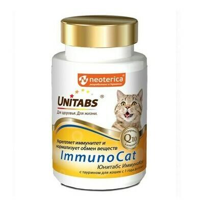 Экопром Юнитабс ИммуноКэт с Q10 и таурином для кошек №120