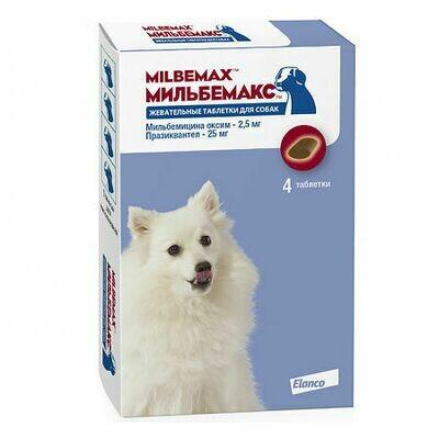 Мильбемакс для собак 2 таб.