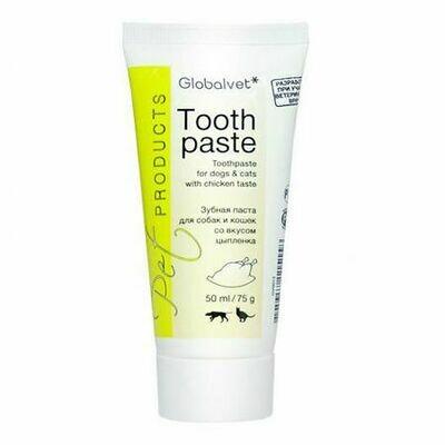 GlobalVet  зубная паста со вкусом печени 50мл