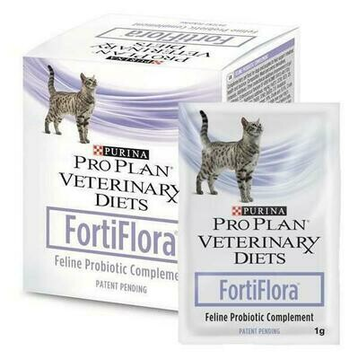 Fortiflora Feline пробиотик для кошек, 30*1г