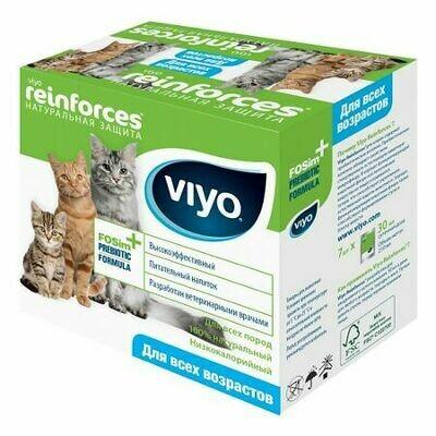 VIYO пребиотический напиток для кошек всех возрастов 7х30мл