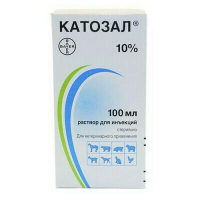 Катозал раствор 10% 100мл
