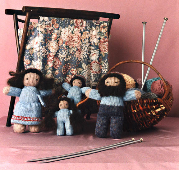 Knitted Family Pattern