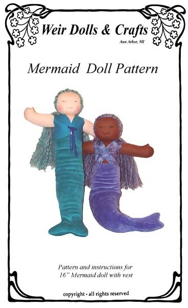 Mermaid Doll Pattern