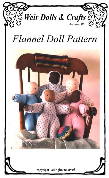 Flannel Doll Pattern