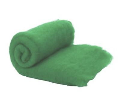 Merino Wool  -- Carded Batt --  Fern