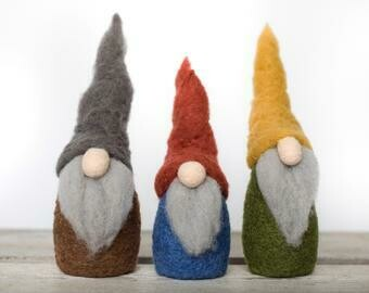 Gnomes Felting Kit