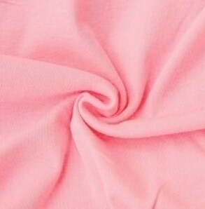 Cotton Plush Velour Fabric -- Pink